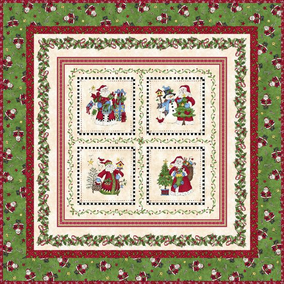 Just Be Claus It's Christmas Quilt Kit by Debbie Beaves for Maywood Studio KIT/MAS-JBC by happyvalleymercantil on Etsy