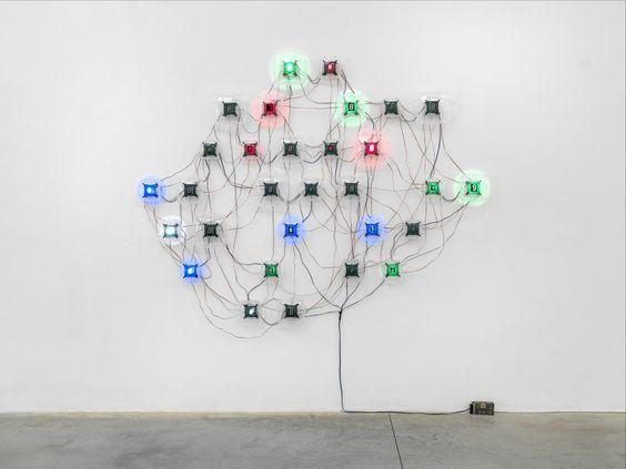 Counter Fragile, No. 22   Tatsuo Miyajima   Artists   Lisson Gallery