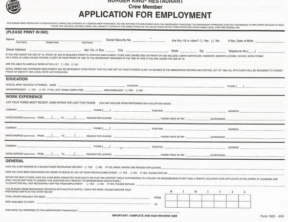 red robin, printable restaurant, clip art, fbi forensics, dunkin' donuts, new york, on job application forms to save