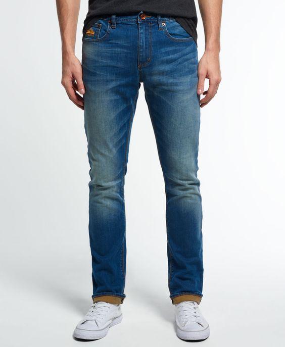 Superdry Corporal Slim Jeans - Men's Jeans | denim #1 | Pinterest ...