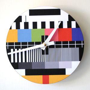 screen test clock