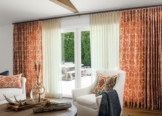 The 25+ best Large window curtains ideas on Pinterest | Large ...