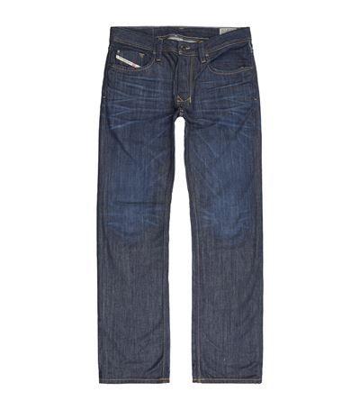 DIESEL Straight Mid-Wash Jeans. #diesel #cloth #