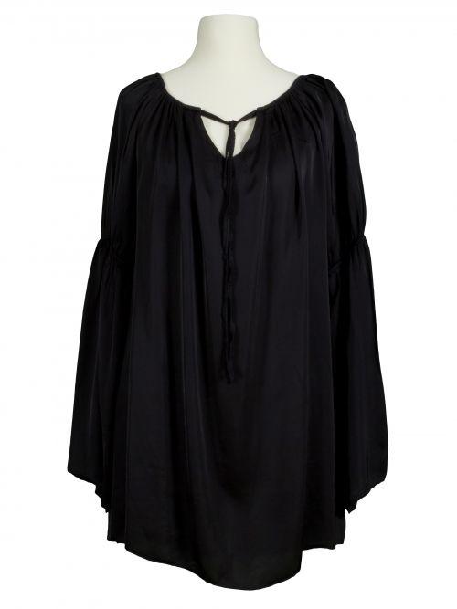 Damen Tunika Bluse, schwarz von Miho's bei www.meinkleidchen.de