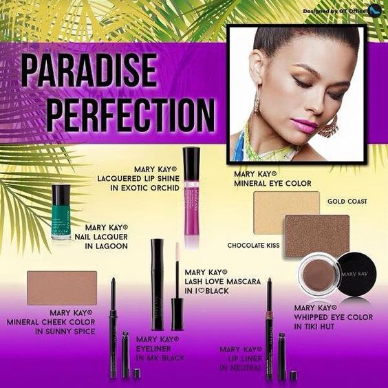 Part 2/2: This was the inspiration for my #featurefriday look today. I did make a couple substitutions for my take on #paradiseperfection. Be sure to let me know how you think it turned out in Part 1!  marykay.com/heather.jensen facebook.com/marykaywithheatherjensen