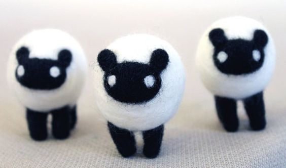how cute are these little sheep!! <3