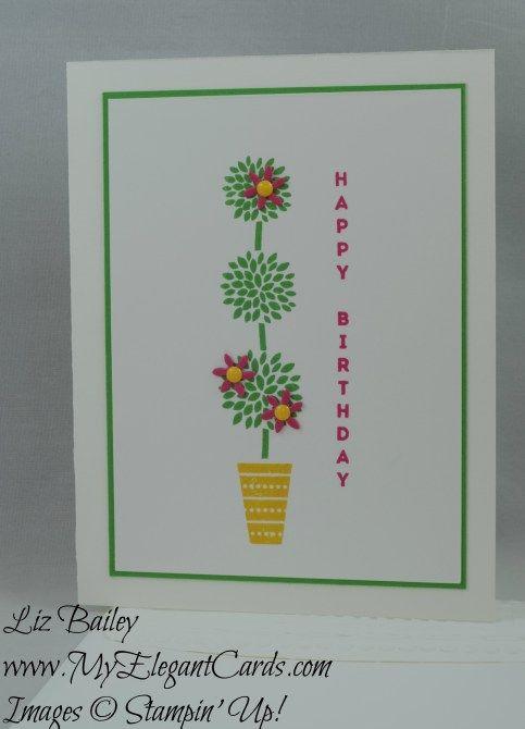 Vertical Greetings - Detailed Floral Thinlits Dies - CAS - My Elegant Cards…