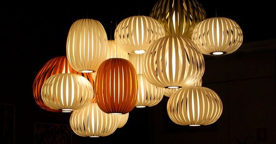 The #GoldenGlobes are a few days away: the @Lindsey Zess-Funk Lamps Pod #Pendant gets our nod for the #GoldenGlobals! #Lighting