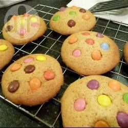 Super Special Smartie Cookies @ allrecipes.co.uk