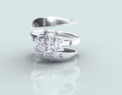 """查看此 @Behance 项目:""""Jewelry CAD Portfolio/ Production Lines 商业珠宝设计""""https://www.behance.net/gallery/15552171/Jewelry-CAD-Portfolio-Production-Lines-"""