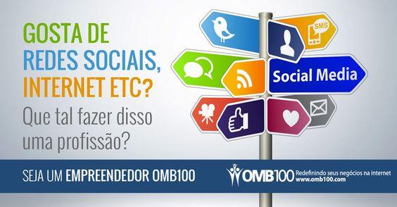 Use as Redes Sociais ao seu Favor! Entre em contato no Inbox ou clique aqui: http://www.omb100.com/br/share/67686