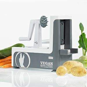 Lurch spiralizer - easiest to use in BBC Good Food review.