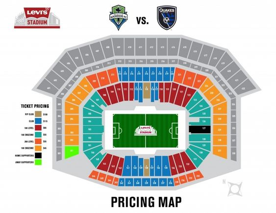 The Most Stylish Levis Stadium Seating Chart Di 2020