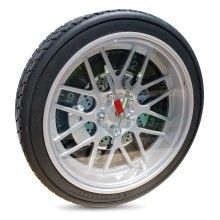 A cool gift for motor maniacs and boy racers, this Car Wheel Clockfrom gifts.co.uk is ideal!