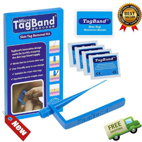 Skin Tag Remover Device Medium Large Tags Skintag Removal Band Kit