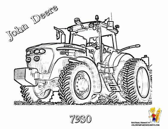 Ausmalbilder Traktor New Holland Tractor Coloring Pages Toddler Coloring Book Kids Coloring Books