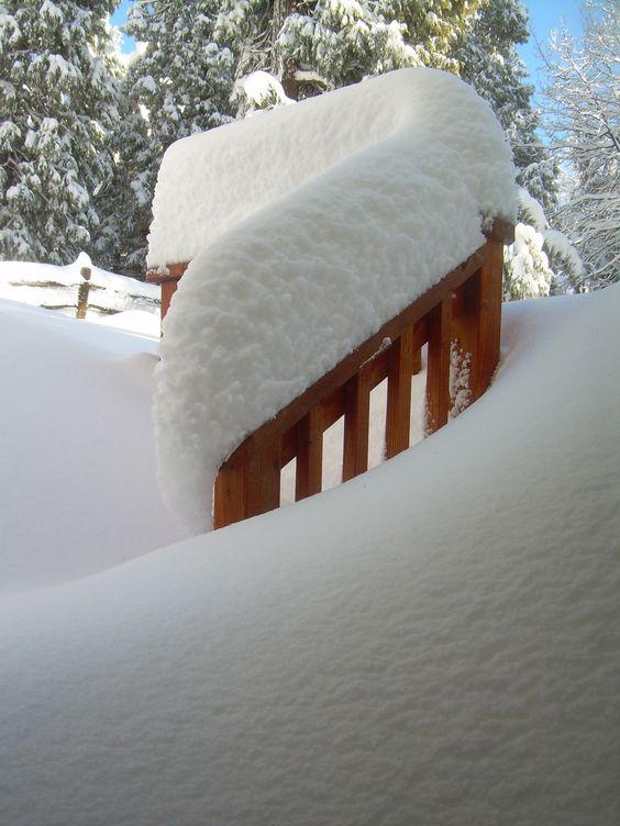 The deck railing...Photo - Elizabeth Atwood