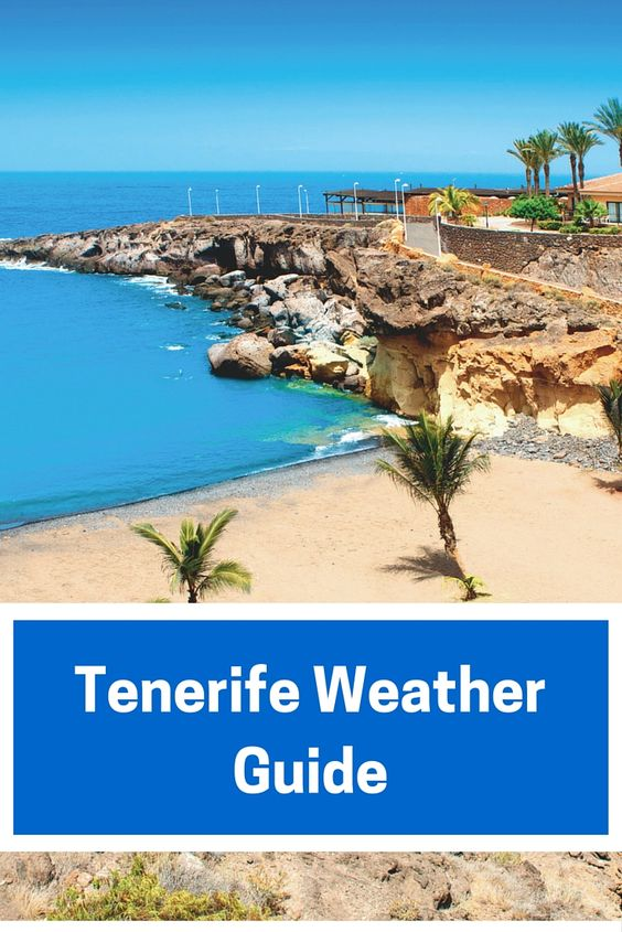 Are you jetting off to Tenerife this year? Click on the image for our month by month Tenerife weather guide.
