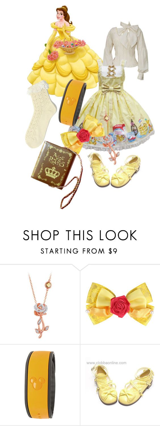 """Lolita-fy Belle"" by xxshemurrqueenxx ❤ liked on Polyvore featuring Disney"