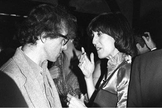 Nora Ephron (with Woody Allen)