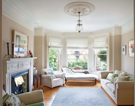 Wood Trim Window And Living Rooms On Pinterest