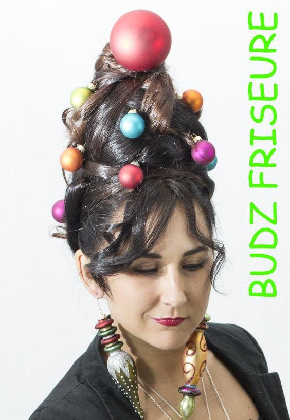 #budzfriseure #weihnachtsfrisur #weihnachtskollektion