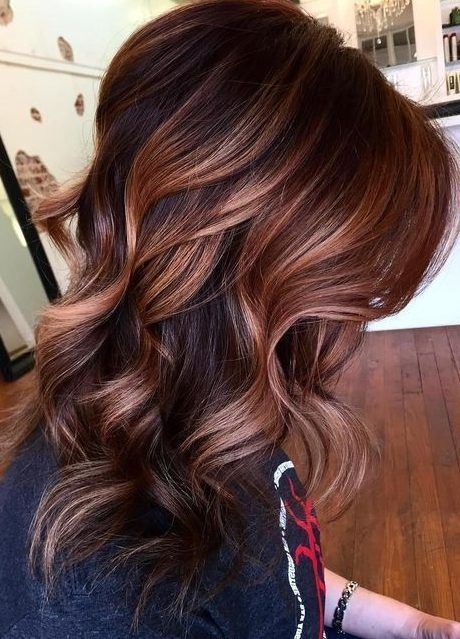 18 Copper Brunette Hair Color Ideas For Short Haircuts In Spring 2019 Wass Sell Hair Styles Balayage Hair Fall Hair Color For Brunettes
