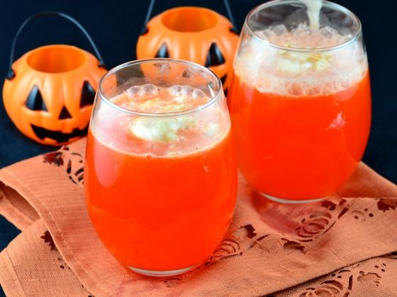 Witch's Bubbly Brewed Punch - Halloween