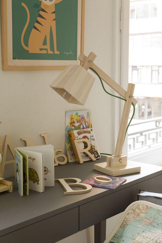 Muuto Wood lamp. Vivenda Travessera II 16 Meritxell Ribé