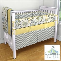 My Carousel Designs Custom Baby Bedding -- Seriously LOVE this!!