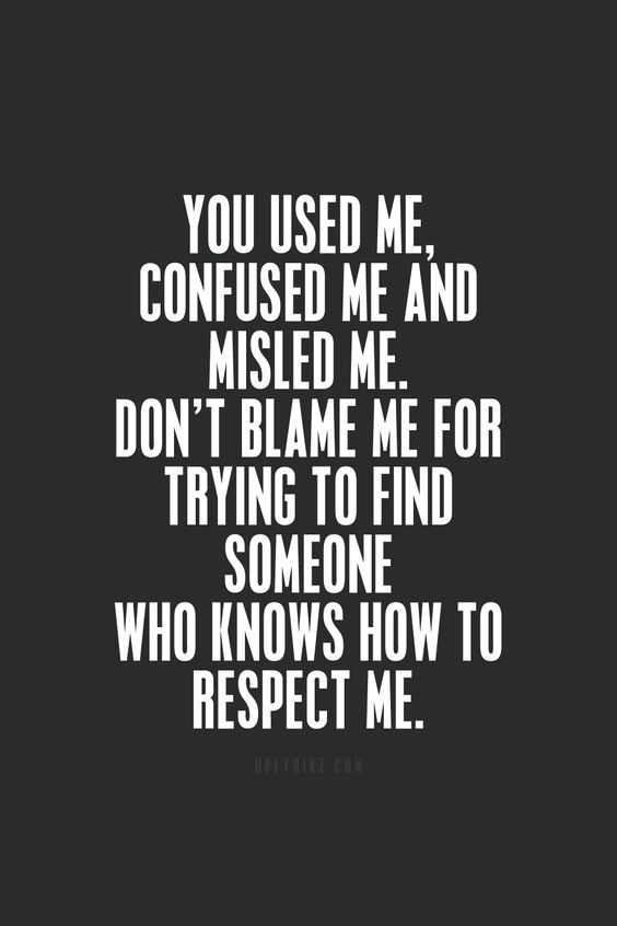 You used me, confused me, and misled me Donu0027t blame me for trying - why quotation are used