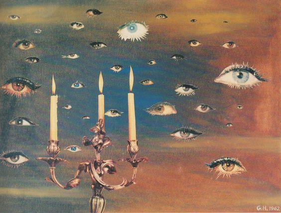 Georges Hugnet, sans titre, 1962 (scan)