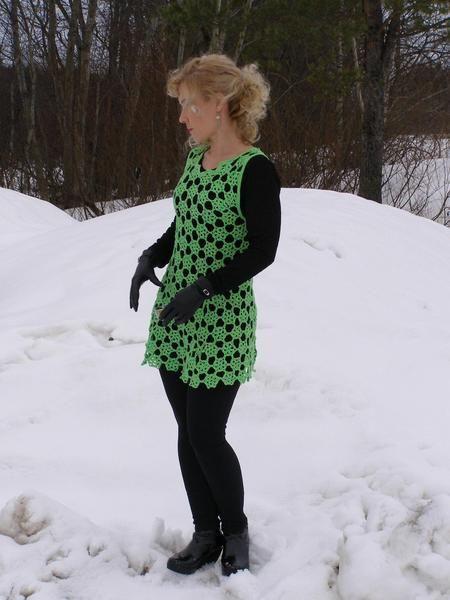 Crocheted dress, tunic from BETONFER by DaWanda.com