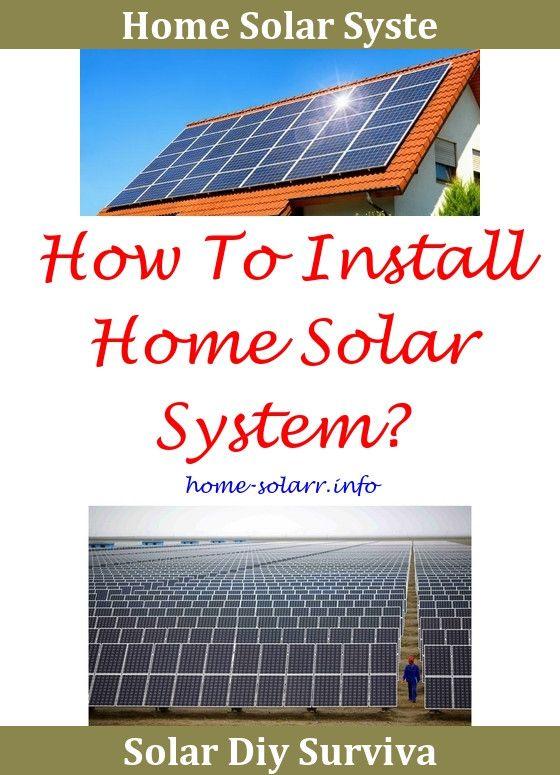 Solar System Solar Power House Solar Heater Diy Solar