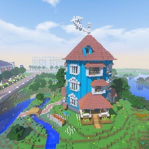 Minecraftししゃも On Instagram ムーミンパークに行ってみたいが