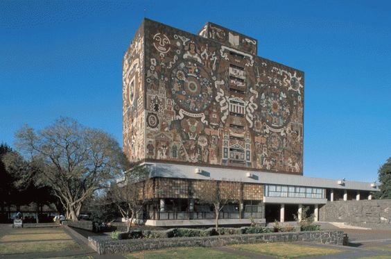 Mexico City, UNAM, National University, Library