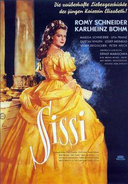 """""""Sissi"""" de Ernst Marischka (1955) Con Romy Schneider, Karl Heinz Bohn y Magda Schneider"""