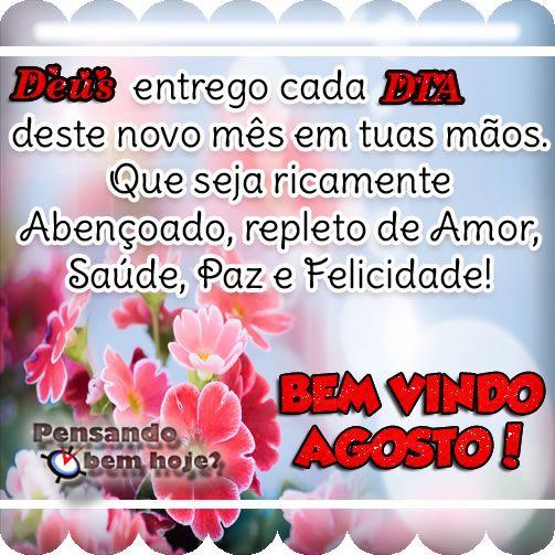 ALEGRIA DE VIVER E AMAR O QUE É BOM!!: DIÁRIO ESPIRITUAL #198 - 02/08 - Render-se a Deus