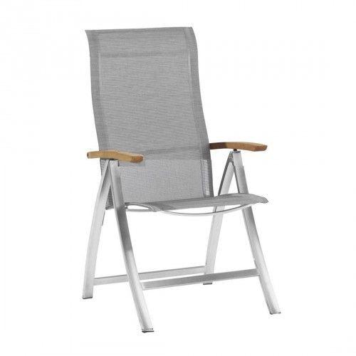 4seasons Slimm Hochlehner Klappsessel Edelstahl Textilen Outdoor Chairs Outdoor Decor Outdoor Furniture
