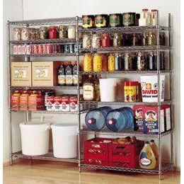 food storage in garage