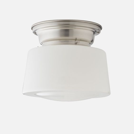 Large Drum Shade - Opal