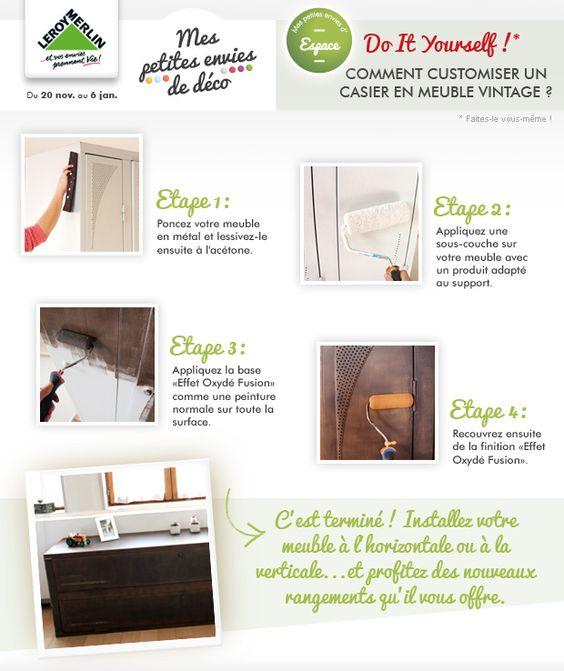 Diy comment customiser un meuble vintage envie d id es for Cirer ou vernir un meuble