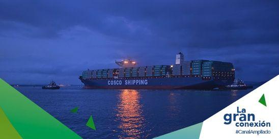 Panamá será la economía regional con mayor crecimiento en los próximos 5 años. El mayor impulsor, el Canal. @canaldepanama