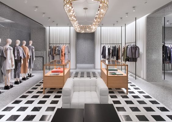 David Chipperfield S Valentino Flagship Store Opens In New