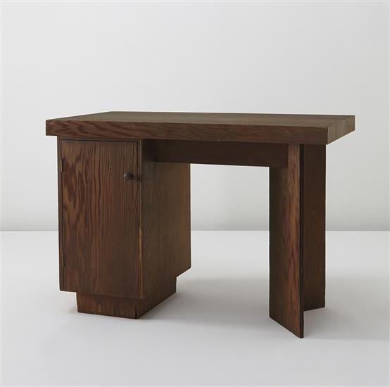 Delightful FRANK LLOYD WRIGHT Bedroom Desk, Designed For The J.A. Sweeton House,  Cherry Hill, New Jersey, Circa 1950 Redwood Veneered Plywood.