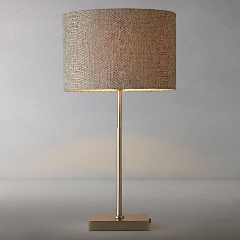 Buy john lewis lorenzo textured shade table lamp online at for Table lamp shades john lewis