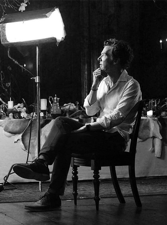 Benedict Cumberbatch during an interview about Hamlet, I believe if I'm wrong please let me know.