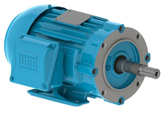 WEG also offers many specialty machines including Synchronous Machines, Top Drive Motors, Mudpump and Draw Works Motors Offshore machines and drop in replacements for competitive machines. WEG Top Drive Variable AC Motors are built with high density magnetic steel and windings providing twice the peak torque as conventional AC motors.