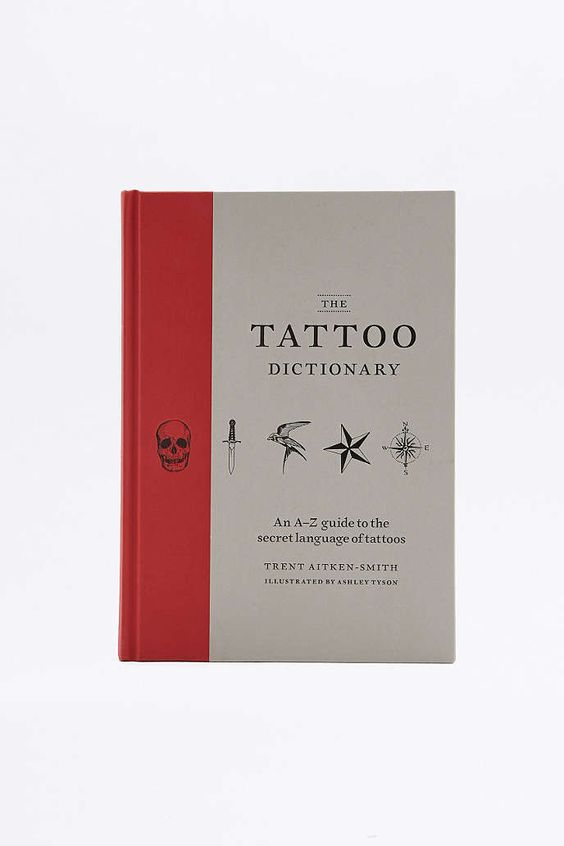 The Tattoo Dictionary Book - Urban Outfitters