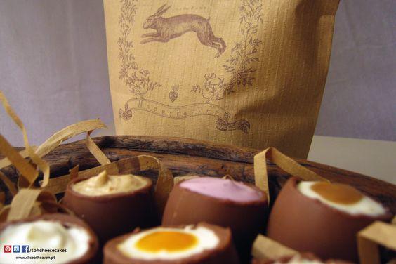 Ovos da Páscoa de Cheesecake  |  Cheesecake Easter Eggs